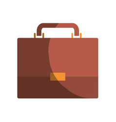 Colorful graphic of executive briefcase without vector