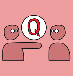Logo quora website icon social media social vector