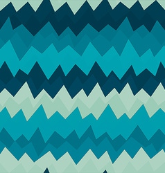 marine zigzag seamless pattern with grunge effect vector image