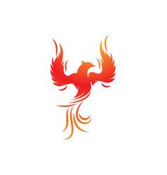 Phoenix icon vector
