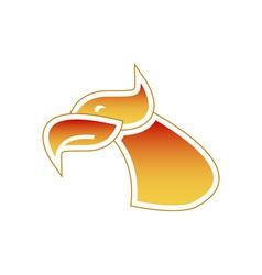Firebird-Head-380x400 vector image vector image
