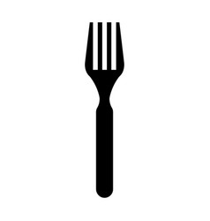 fork icon image vector image vector image