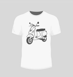 scooter image vector image vector image