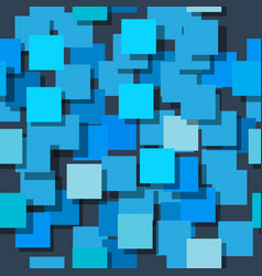 Seamless background made up of squares the planes vector
