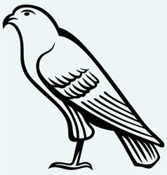 Eagle sketch vector image vector image
