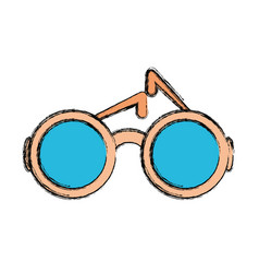 sunglasses vector image vector image