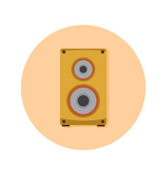 Audio speaker studio graphic vector