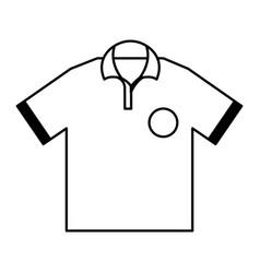 golf team shirt icon vector image
