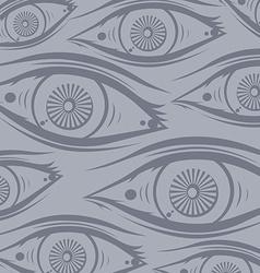 horus eye vector image
