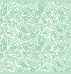 Mint green geometric mosaic triangles vector