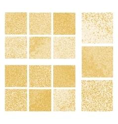 Mustard mosaic set vector image