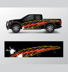 racing background for vinyl wrap and decal vector image