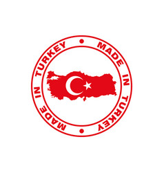 turkey print vector image
