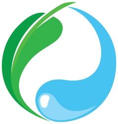 Eco friendly icon vector