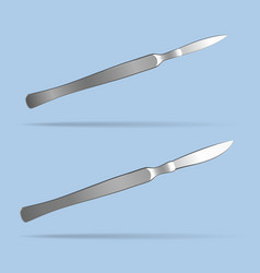 Scalpel surgical operating tool health and vector