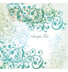summer florals vector image vector image