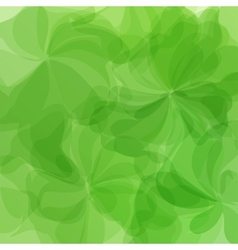 Green Background Watercolor Painting vector image vector image