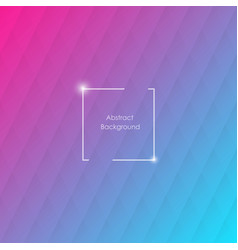 blue and pink geometric background with rhombus vector image vector image