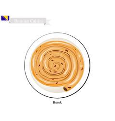 Burek or meat pie vector