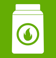 matchbox icon green vector image vector image