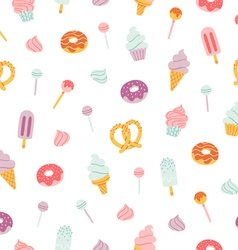 Candy bar pattern vector image