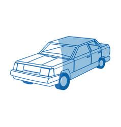 Car sedan wheel auto vehicle image vector