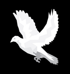 Dove holy spirit vector