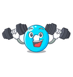 fitness the number zero on the character vector image