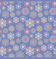 kaleidoscope pattern vector image