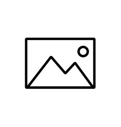 Picture icon symbol simple design eps10 vector