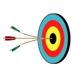 spltting the arrow vector image