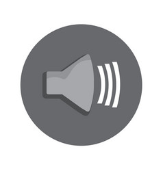 volume level icon graphic vector image