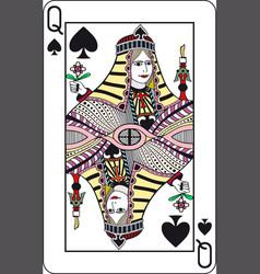 queen vector image