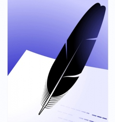 quill vector image vector image