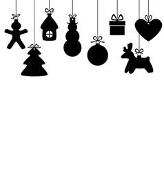gift hang vector image