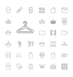 33 empty icons vector