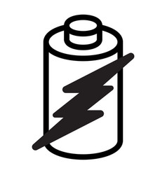 Battery energy icon vector