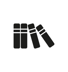 black book simple icon vector image vector image