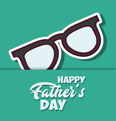 happy father day design vector image