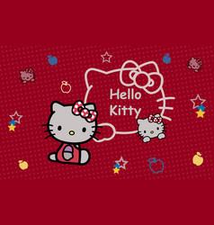 Hello kitty graphics vector