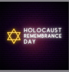 International holocaust remembrance day banner vector