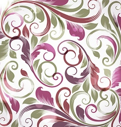 Purple Floral Background vector