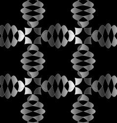 Silver Ornamental background vector