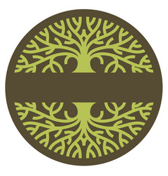 Tree logo vector