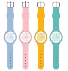 Watches vector