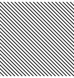 Line diagonal black seamless pattern vector image