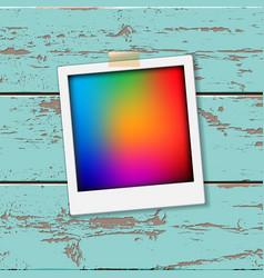 instant vintage photos frames vector image