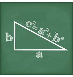 Pythagoras Theorem vector image