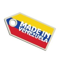 Made in Venezuela vector image vector image