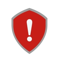 shield security isolated icon vector image